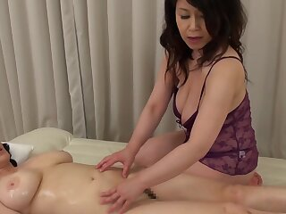Two Asian matures drop their clothes to have a kinky lesbian coition